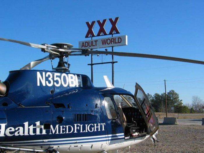 Вертолет против стаи птиц (25 фото)