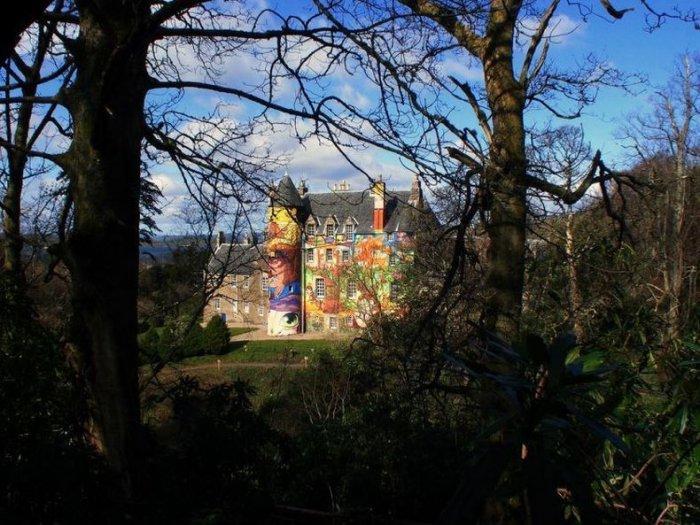 Разукрашенный замок (15 фото)