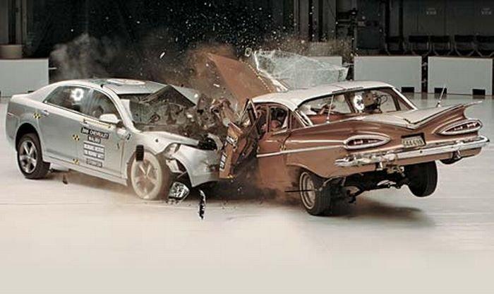 Безопасность сейчас и 50 лет назад (7 фото)