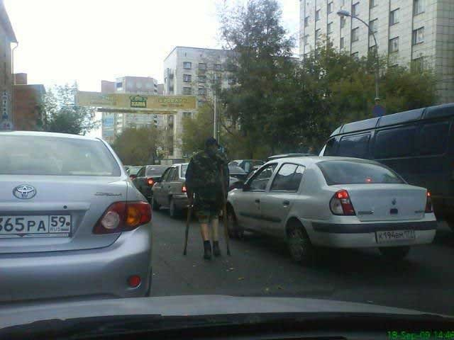 Попрошайки-инвалиды (12 фото)