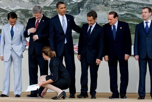 Забавные политики (49 фото)