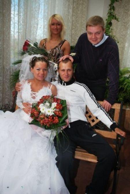 Жених-гопник (19 фото)