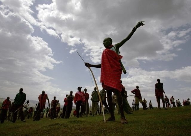 Разборки в Кении (18 фото)