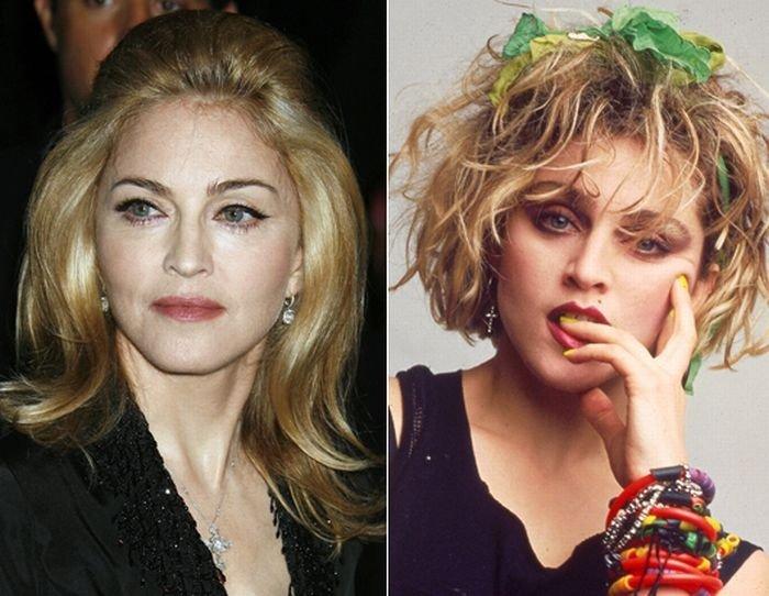 Звезды в 80-х и сейчас (13 фото)