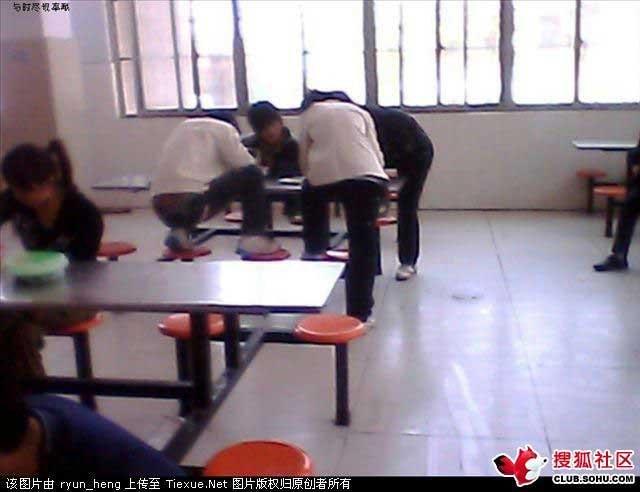 Китайская столовая (6 фото)