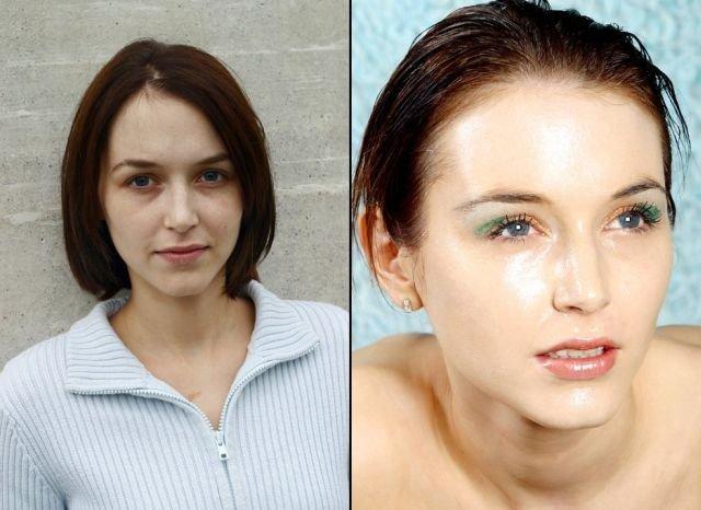 Чудеса макияжа (21 фото)