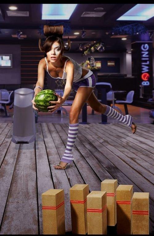 Необычная реклама кирпичей (11 фото)