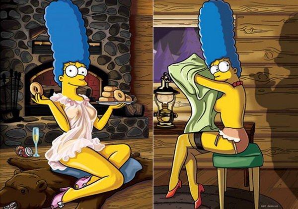 Мардж Симпсон в ноябрьском Playboy (5 фото)