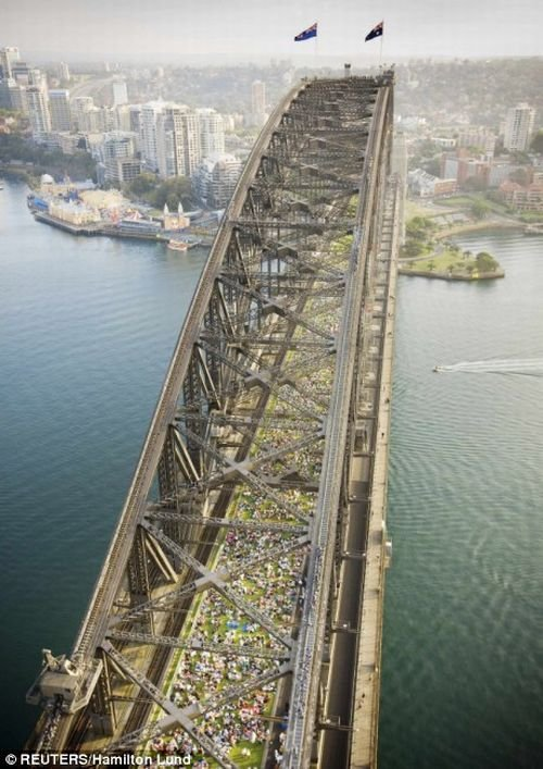 Завтрак на мосту (17 фото)