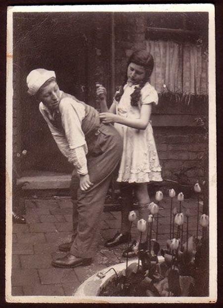 Креативные фотографии начала прошлого века (65 фото)