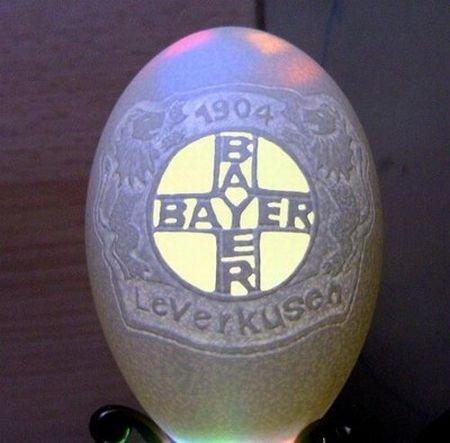 Резьба на яйцах (27 фото)