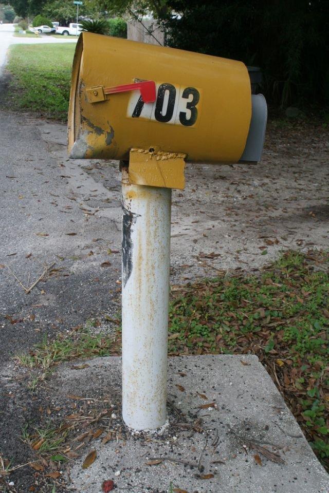 Джип против почтового ящика (21 фото)