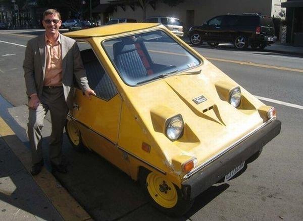 Самодельный электромобиль (20 фото)
