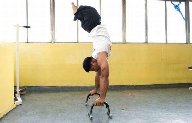 Чемпион без ног (9 фото)