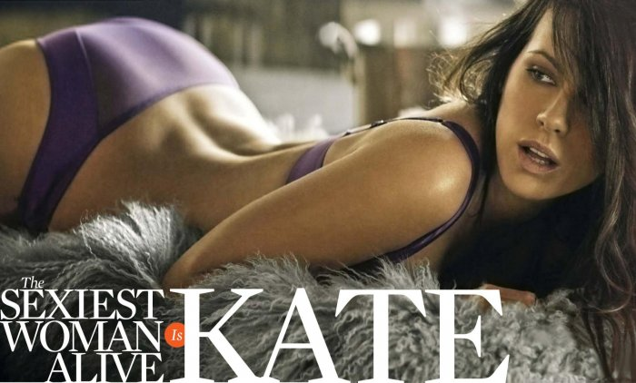 Kate Beckinsale для US Esquire (6 фото)