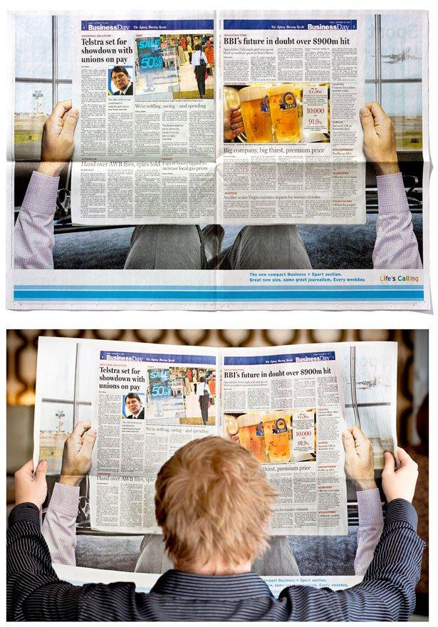 Подборка креативной рекламы (36 фото)