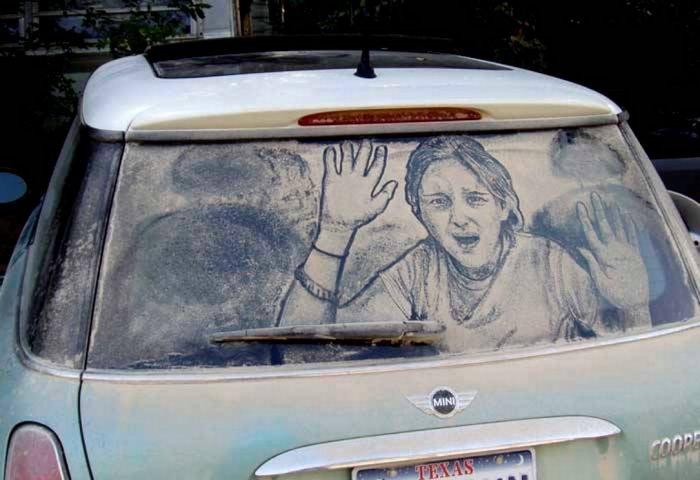 Что можно нарисовать на стеклах (20 фото)