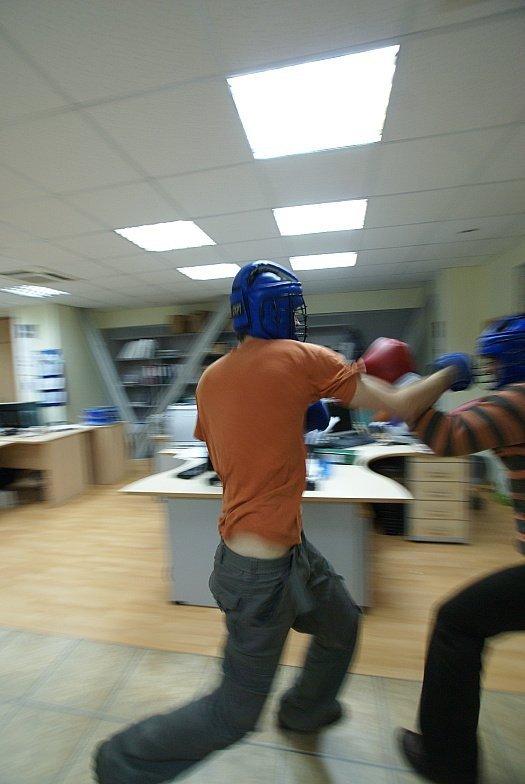 Как развлечься на работе (40 фото)