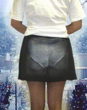 Креативные японские юбки (9 фото)