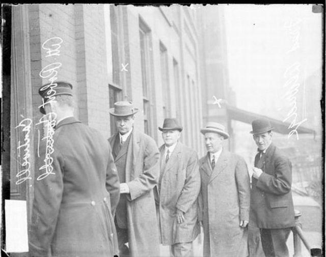 Уголовники США начала 20-го века (50 фото)