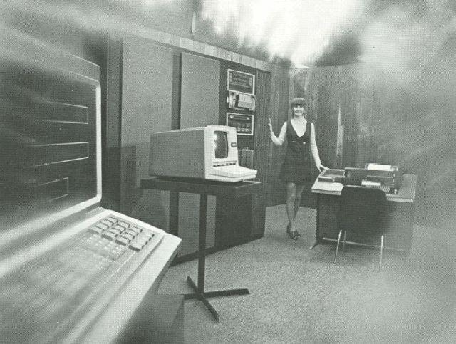 Офисы прошлого (35 фото)