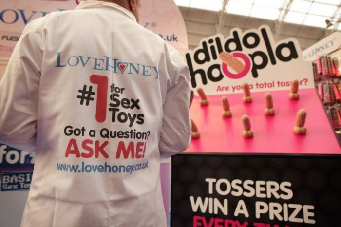 Выставка Эротика 2009 в Лондоне (14 фото)