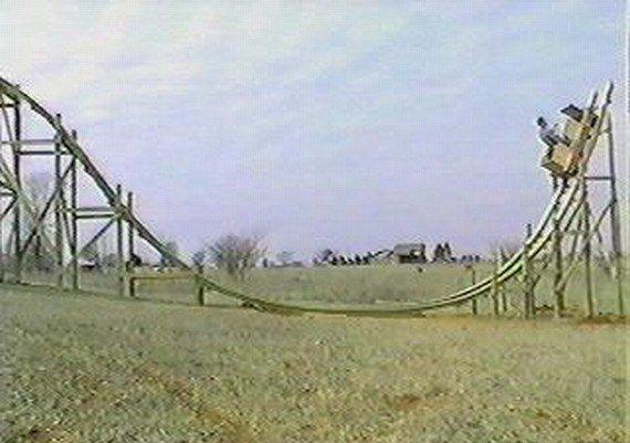 Самодельные американские горки (55 фото)