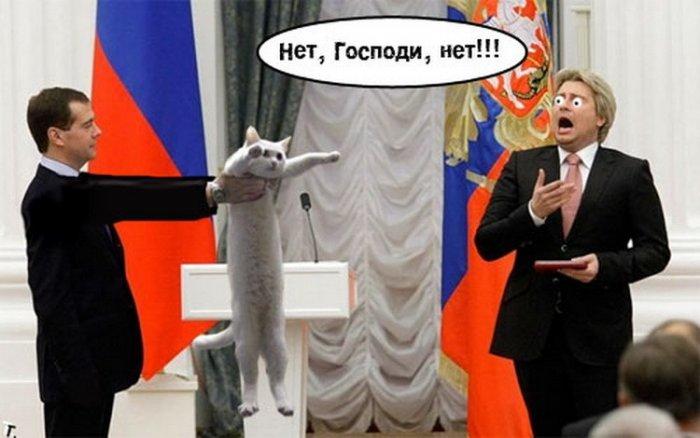 Фотожаба на Медведева и Баскова (51 фото)