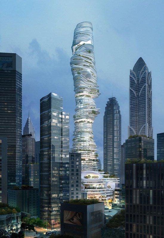 Творения безумных архитекторов (17 фото + текст)