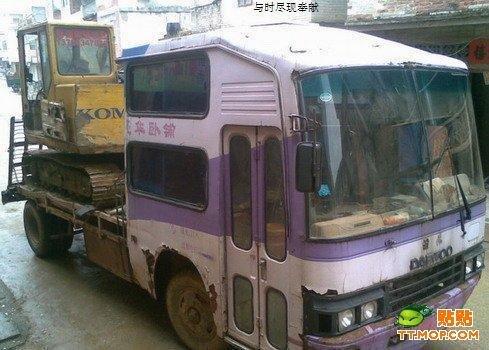Полуавтобус (5 фото)