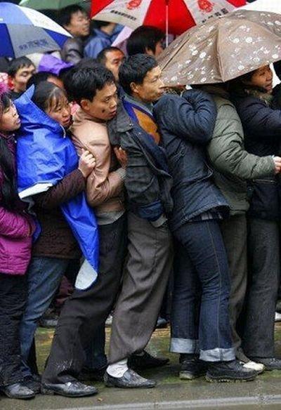 Поездка на электричке в Китае (22 фото)