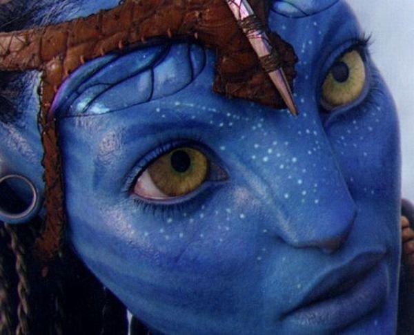 Главная героиня фильма Аватар (2 фото)