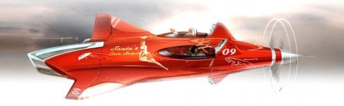 Транспорт современных Санта-Клаусов (7 фото)