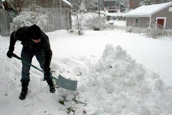 Что можно слепить из снега (9 фото)