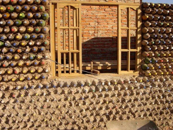 Дом из бутылок (36 фото)