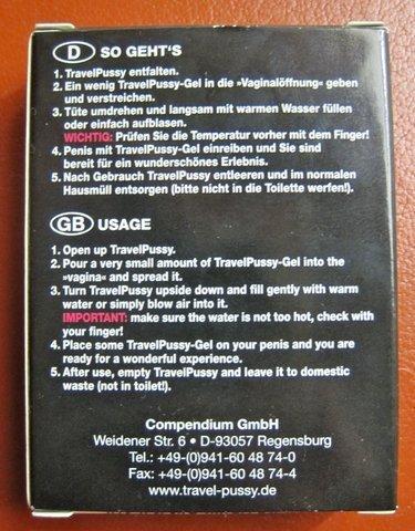 Немецкий набор для онаниста (9 фото + текст)
