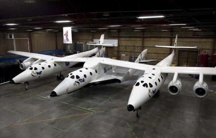 Космический корабль для туристов (11 фото)