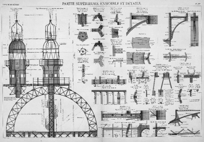 Строительство Эйфелевой башни (18 фото)