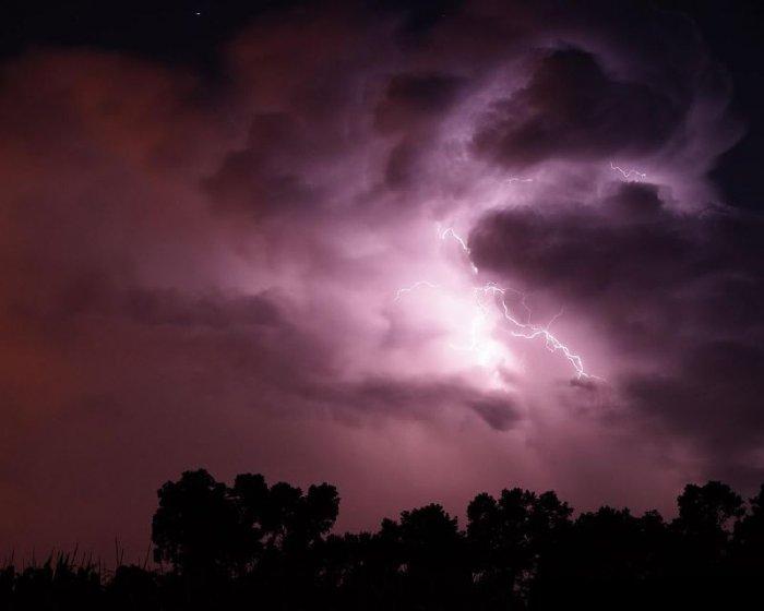 Облака перед грозой (12 фото)