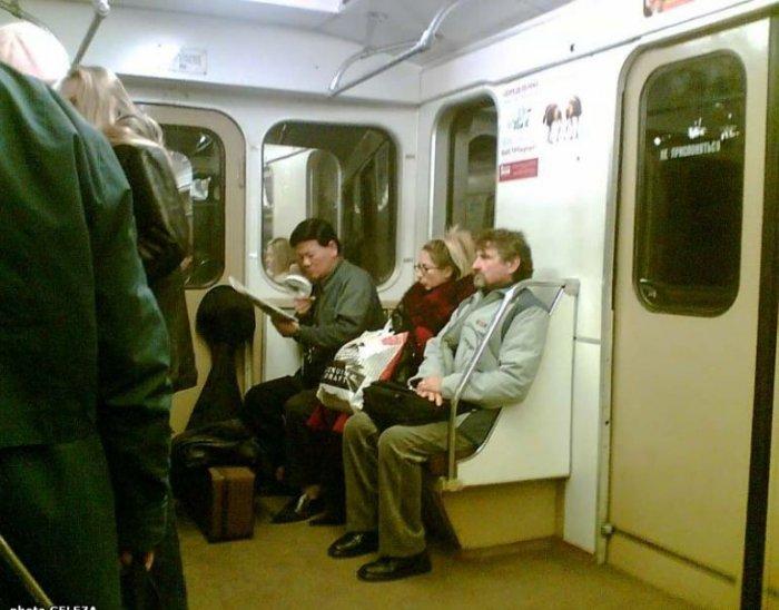 Кого можно встретить в метро (66 фото)