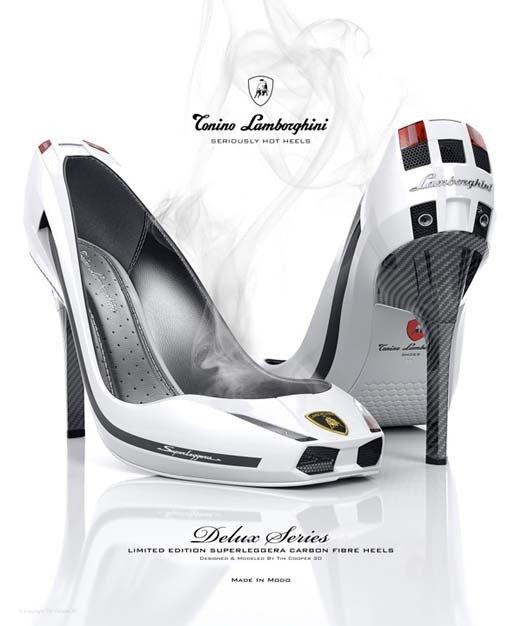 Туфли в стиле Ламборгини (5 фото)