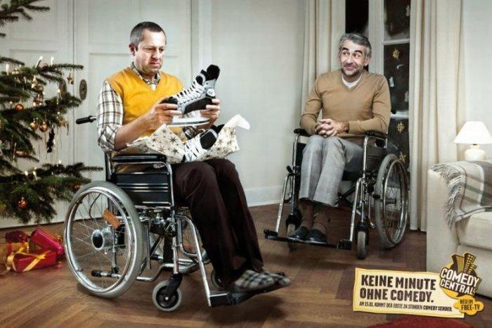 Смешная реклама от Comedy Centra (15 фото)