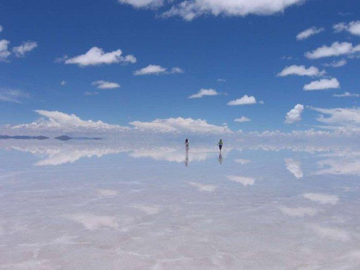 Огромное природное зеркало (10 фото)