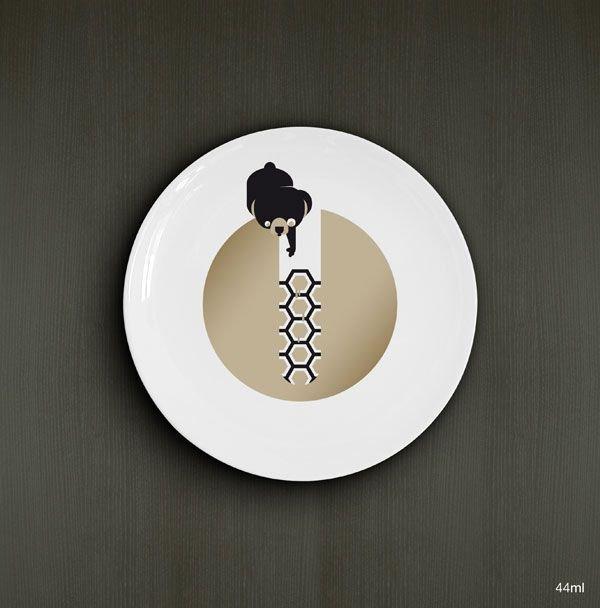 Креативные тарелки (9 фото)