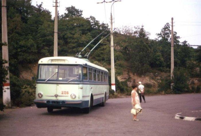 Троллейбусы в Грузии (11 фото)