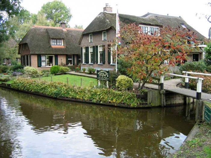 Деревня в Голландии (20 фото)