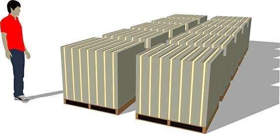 Как выглядит триллион долларов (6 фото)