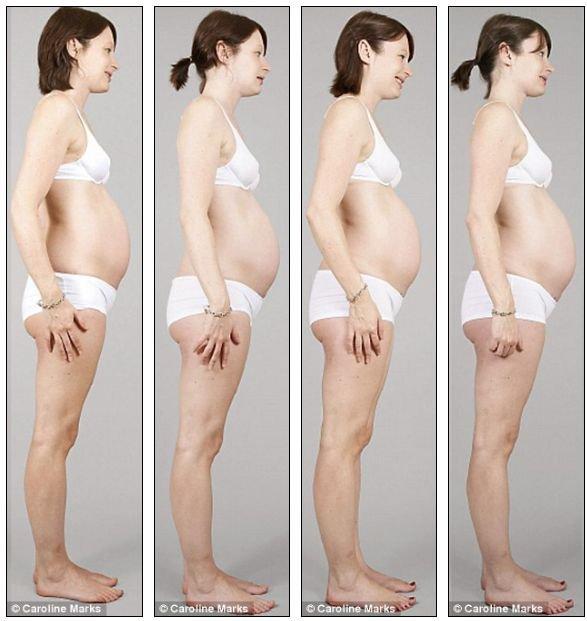 Беременность в картинках (27 фото)