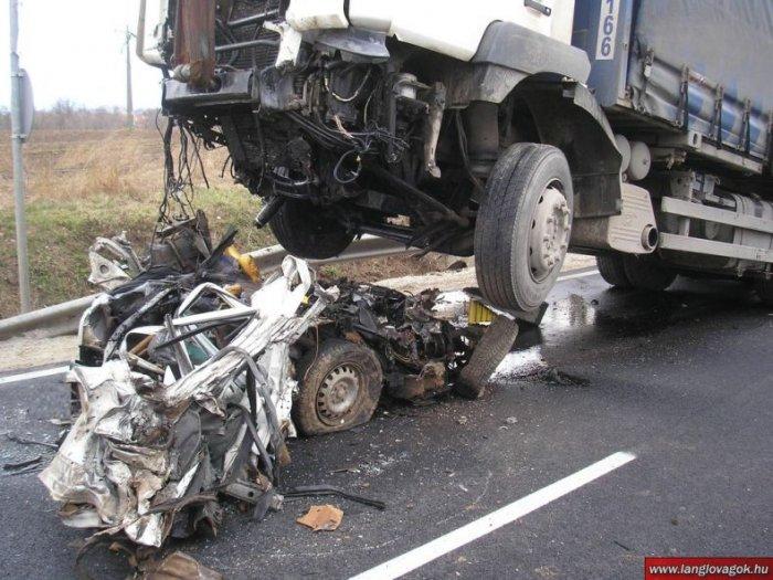 Жесткая авария (7 фото)