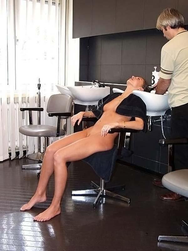 Необычный поход в парикмахерскую (40 фото)